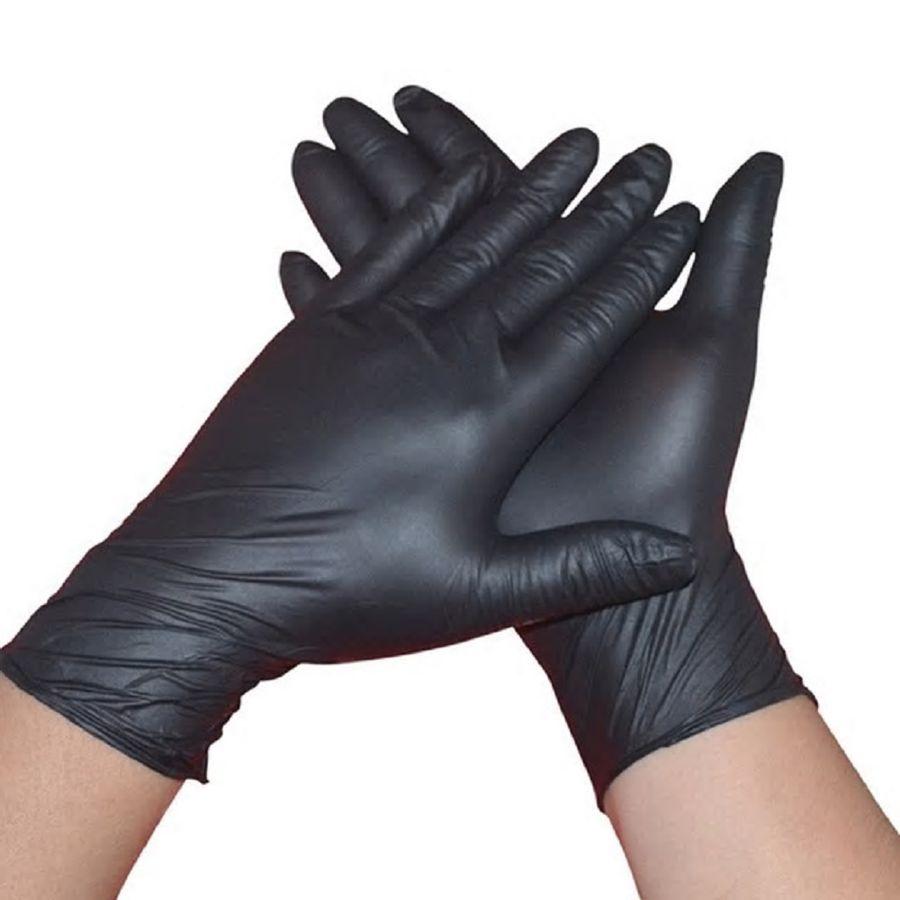 Par-de-guantes-profesionales-de-peluqueria-en-latex-negro
